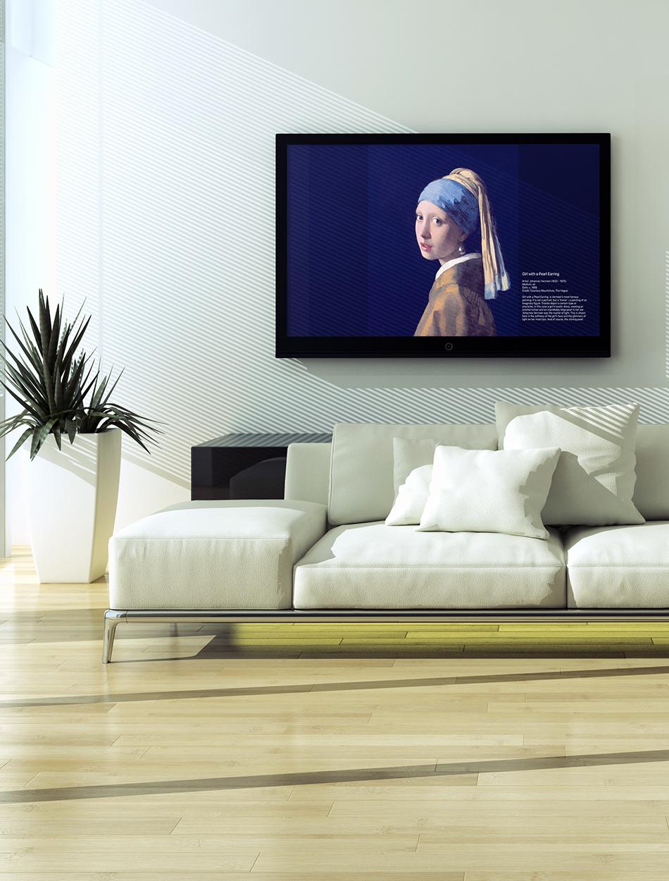 Tv Art Gallery