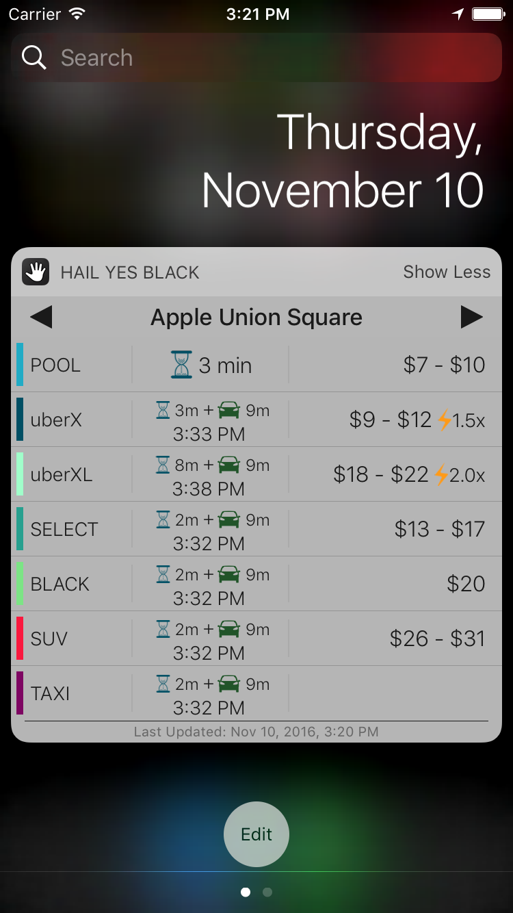 Announcing Hail Yes Black for iOS Image