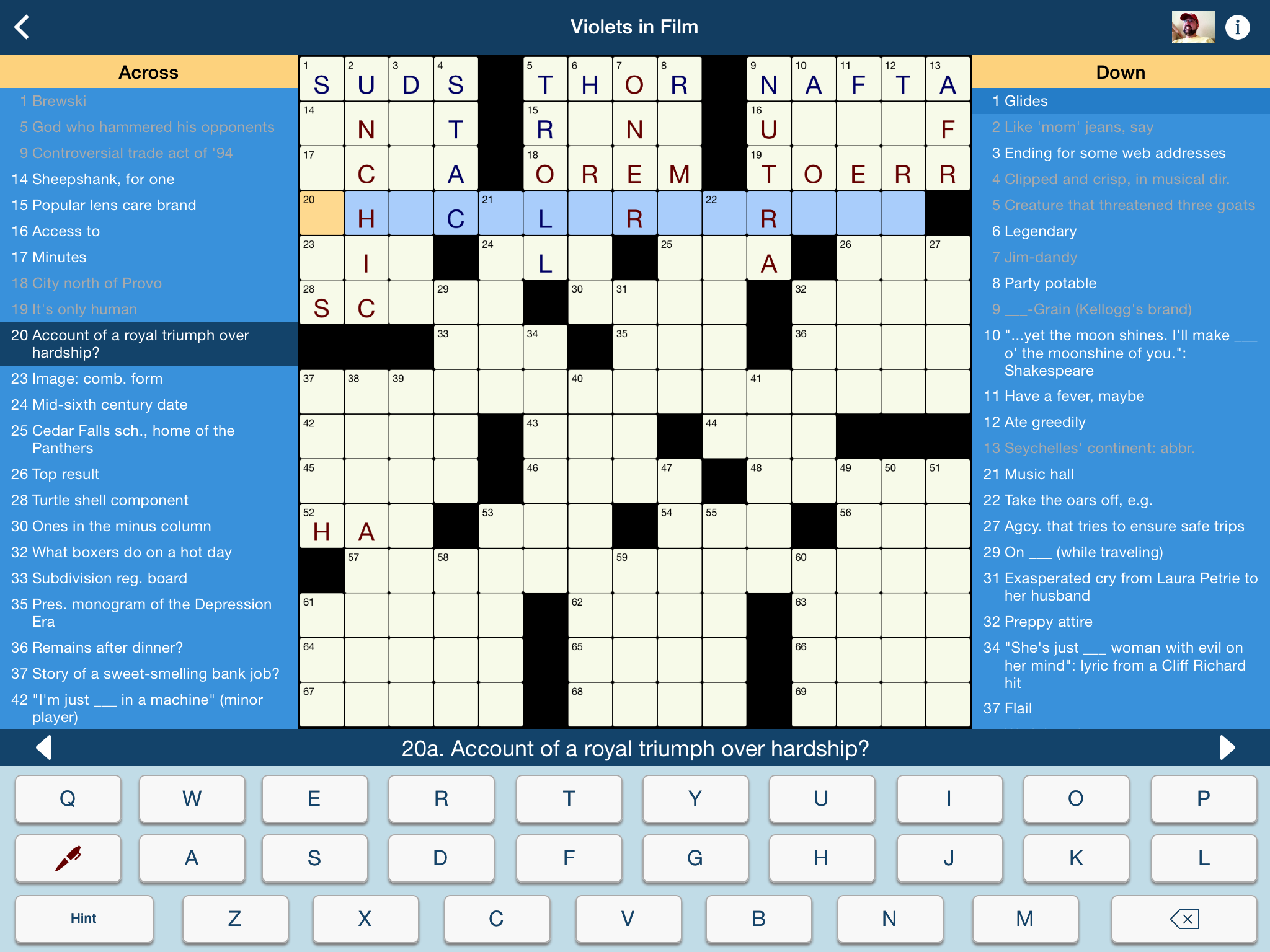 Game Board Screenshot 2