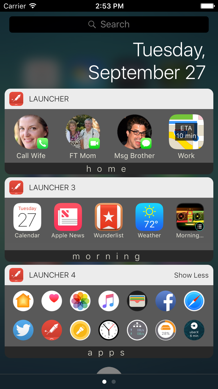 Widget Screenshot
